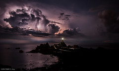 Electric Night (cpallot1) Tags: longexposure sea sky storm electric night clouds amazing corbiere omot