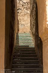Badi Palace (PhotoRys) Tags: travel architecture stairs landscape photography palace morocco marrakech marrakesh travelblog azulejos badi africka badipalace altewedrowki photorys