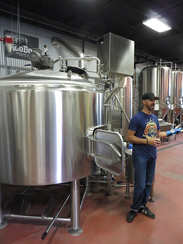 HooDoo Brewing brewery tour