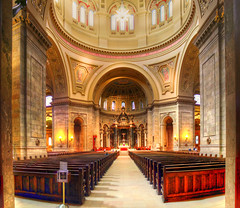 Cathedral of St Paul (saish746) Tags: house fall monument colors saint minnesota st landscape paul j high jj tour dynamic cathedral hill landmark historic capitol summit shelby christianity avenue range hdr jhill jjhill