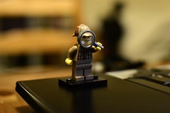 2014-09-16: Looking For Clues (psyxjaw) Tags: london glass looking flat lego laptop figure holmes magnify clue sherlock detective londonist