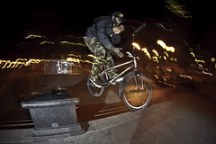 nollie barspin (Filibbb) Tags: street sport bmx extreme trick grind barspin