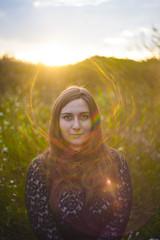 Helios & Clia 03 (www.Azety.fr) Tags: light portrait sky woman sunlig