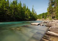 McDonald Creek, Glacier National Park (synaesthesia24) Tags: summer nature creek river landscape montana glaciernationalpark mcdonaldcreek rockflour glacialflour