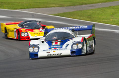 Porsche Festival Porsche 956/001 (motorsportimagesbyghp) Tags: motorracing sportscar motorsport brandshatch derekbell worldcars baylisharding festivalofporsche porsche956001