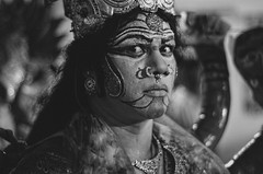 _DSC5182 (Swasti Verma) Tags: street portrait india history festival portraits 50mm dance colorful artist faces hyderabad mythology incredibleindia d7000