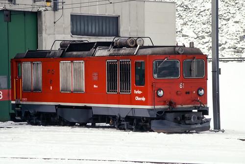 Andermatt | CH-UR (Uri) | 18.12.2000 | FO-HGm 4/4 61