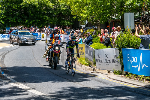 Breakaway Rider Jasha Sutterlin - Fifth Pass