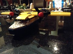 The Sea Duck (Cameron_Talley) Tags: lego disney talespin seaduck baloo plane boat yellow legobricks creator