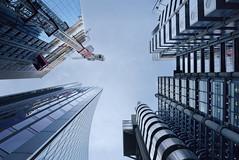 Lloyds looking up (Richard W Hollins) Tags: city london uk lloydsoflondon lloyds scalpel nikon d810