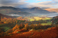 Misty Morning in Patterdale (PJ Swan) Tags: lakedistrict england cumbria patterdale fells mountains hiking hillwalking