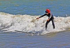 Hjälmförsedd 5 (Quo Vadis2010) Tags: westcoast västkusten kattegatt hallandslän halland municipalityofhalmstad halmstadkommun halmstad sandhamn görvik cityofsurfers wavesurfing wavesurf vågsurfing vågsurf surfing surf vågor våg sea hav beach strand surfbräda bräda sport activity aktivitet lifestyle livsstil se