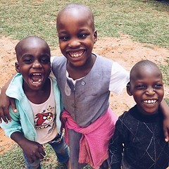 Rooney, Rael and Moses: the three best friends that anyone could have. #preciouskidscenter