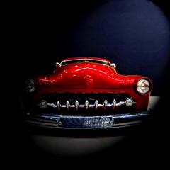 1950 Chopped Custom Mercury (archifra -francesco de vincenzi-) Tags: archifraisernia francescodevincenzi custommercury oldcar classiccar automobile usa auto rosso red choppedcustommercury1950 motodays2017 fieradiroma