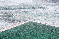 A grey day at Bondi icebergs (Justine Gordon) Tags: bondibeach bondiicebergs