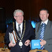 Joe Dolan, IHF President and Tony Dunlea, Electric Ireland