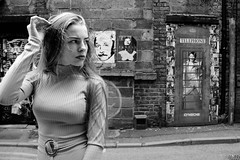 Did you know (plot19) Tags: manchester model nikon north northern northwest now england english britain british girl woman young teenager fashion fasion uk plot19 photography portrait david bowie blackandwhite blackwhite black