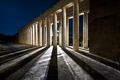 (ilConte) Tags: rome roma architecture night nacht columns arc architektur eur notte architettura colonne rationalism razionalismo razionalista