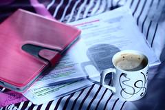 ! (  | Walaa AbdulAziz) Tags: cup coffee study ipad