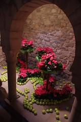 Red Roses and Green Apples (b16dyr) Tags: architecture spain girona flowerfestival floralart tempsdeflors arabbaths tempsdeflors2014