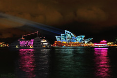 Vivid Sydney (zybertooth) Tags: lights nikon harbour sydney australia operahouse vividsydney