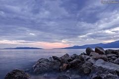A Sight To Behold (Igor Letilovic) Tags: sunset sea clouds landscape nikon rocks pretty view croatia more adriatic hrvatska rijeka jadran admiration zalazak sunca
