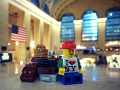 waiting for a train (Chantal van der Ende-Appel) Tags: ny newyork lego manhattan grandcentralstation minifigs minifigures