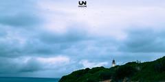 the lighthouse storm (www.undonephotos.com) Tags: blue summer naturaleza lighthouse storm portugal nature clouds algarve climate carvoeiro