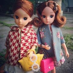 อยู่แพรีสค่ะ มาดูโปรแกรมหนัง… #licca #takara #doll #vintage