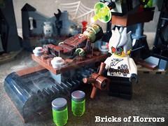 It's Aliveeeee! (www.BricksOfHorrors.tumblr.com) (Bricks of Horrors) Tags: classic lego frankenstein horror minifigs madscientist minifigures instahorror