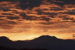 Tramonto - Monte Magno