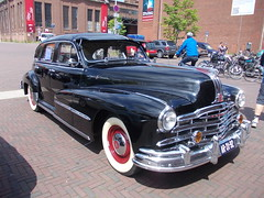 Pontiac Streamliner Silver Streak Deluxe 1948 (Zappadong) Tags: auto classic 1948 car silver automobile streak deluxe voiture coche classics oldtimer pontiac oldie carshow streamliner kustom 2014 youngtimer automobil herten kulture oldtimertreffen zappadong