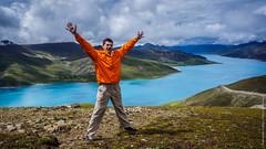 Озеро Ямдрок в Тибете