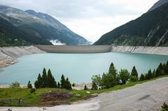 Stausee Ginzling I. (Adam Haranghy) Tags: mountains nature outdoors austria see tirol sterreich outdoor hiking natur berge finepix fujifilm stau wandern zillertal valleys stausee x100 tler ginzling