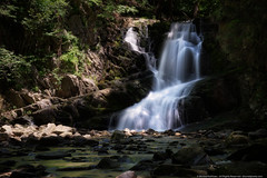 Indian Brook Falls (mhoffman1) Tags: longexposure shadow ny newyork water creek waterfall unitedstates stones coldspring mixedlighting a7r shadowstream
