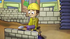 Construction worker (khawla ashour) Tags: world camera light summer man anime color building cute green art home colors beautiful smile make hat yellow kids wonderful creativity happy photo yahoo amazing nice fantastic movement flickr thought artist day hand phone graphic image album palestine tag islam think cartoon picture arabic fave adventure jordan made explore human national enjoy coloring strong worker draw activity capture month gfx active islamic career occupations expore inshad