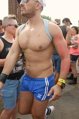 P2880823 (amsfrank) Tags: shirtless man men amsterdam festival muscle milkshake westergasfabriek