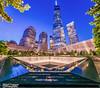 911 Memorial WTC (kirit prajapati photography) Tags: apple water worldtradecenter we wtc bigapple 911memorial bluehours weneverforget bestskyline nikond800e bestskylineinworld