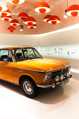 BMW | orange 2002 TI (jb|fotografie) Tags: orange beautiful beauty car museum canon munich mnchen lights bmw oldtimer eos1d canoneos1d bmwmuseum markiii 2002ti