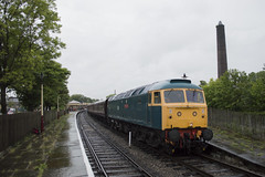 47401 at Ramsbottom. 4th July 2014 (MitchellTurnbull) Tags: summer diesel north 4th july railway class lancashire gateshead east eastern elr gala 47 2014 ramsbottom 47401