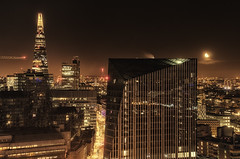 Moonrise City (darbians) Tags: city london night nikon cityscape rooftops nightime theshard d7000 nikond7000 darbians