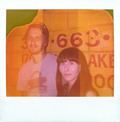 Kevin Long and Anna-Lynn Williams at The Satellite 2014-06-10 (monodistortion) Tags: california polaroid losangeles silverlake spectra divot expiredfilm thesatellite polaroidimagefilm kevinlong lottekestner polaroidspectrafirstedition expired200609 lastfm:event=3849602