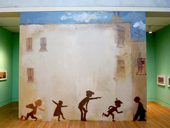 Museum, The Snowy Day and the Art of Ezra Jack Keats at the Skirball's Cultural Center, Wall Mural