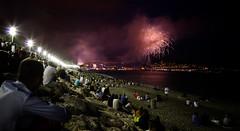 La Promenade des Anglais (Kurayba) Tags: sea people holiday france bay la nice mediterranean day pentax fireworks 14 july des national angels da fête juillet bastille f4 anges feu dartifice k5 baie nationale 2014 dazur 1645 provencealpescôte smcpda1645mmf40edal