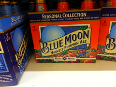 Blue Moon Harvest Pumpkin Ale (Check_Out_My_Favorites) Tags: blue autumn 6 moon fall beer brewing season pumpkin bottle flavor bottles wheat spice seasonal harvest ale vine collection pack spices brew ripened 6pk
