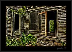 Only Memories Remain (the Gallopping Geezer 3.7 million + views....) Tags: house building abandoned home canon community decay structure faded vacant worn weathered desolate derelict deserted decayed 2010 corel dwelling gezeer