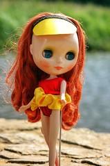 Zockerina (David Ogilby) Tags: beauty doll sewing blythe bathing takara bcuk blythecon