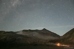 Stars above Mount Bromo (mydarksky) Tags: mountbromo