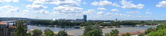 New Belgrade / Sava River (tigot) Tags: new blue sky panorama river landscape floating belgrade beograd sava novi nebo reka splavovi