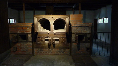 Dachau - early crematorium